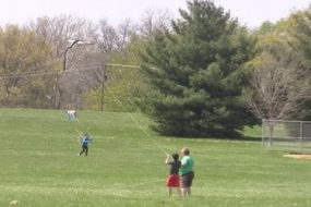 Decatur Park District hosts Kite Day (Video)