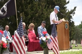 Decatur Memorial Day Ceremonies 2016 (Video)