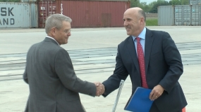 CN Joins Midwest Inland Port (Video)