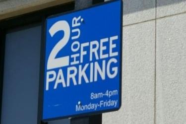 downtown Decatur parking sign