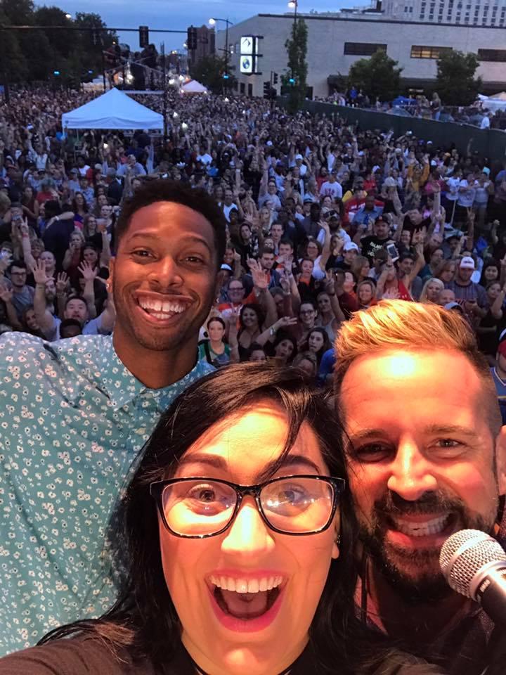 Y103 @ Decatur Celebration 2017