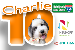 The Charlie 10! With the Bob Brady Auto Group