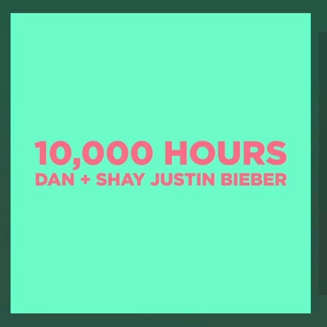 "LISTEN!  NEW Dan + Shay/ Justin Bieber ""10,000 Hours"""