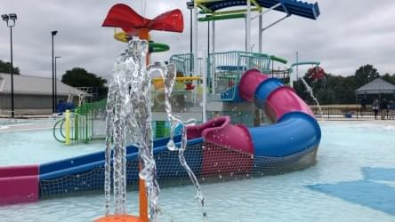 WATCH: Inside Look at the Decatur Park District's New Splash Cove