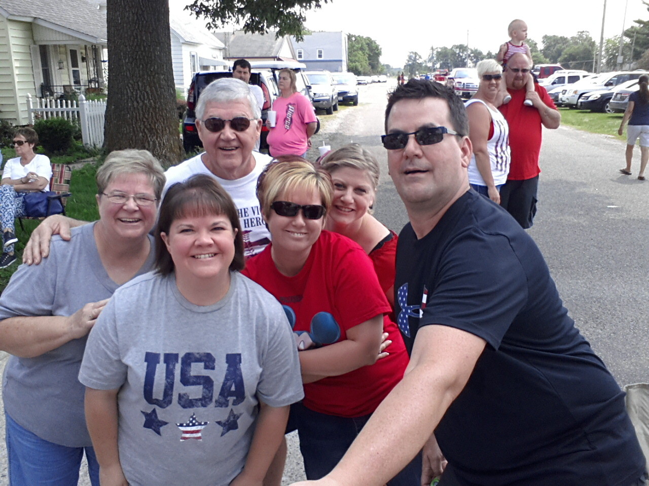 Oakwood 4th of July Parade Pictures