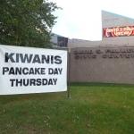 Kiwanis Pancake & Sausage Day Today
