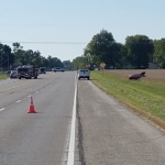 Crash Near Georgetown Claims a Life