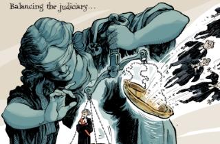 Balancing the judiciary