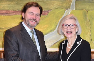 Beverley McLachlin and Richard Wagner