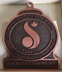 Tarnopolsky award medal