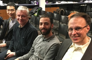 David Dou, Juri Sildam, Geoffrey Singer, and David Michaels