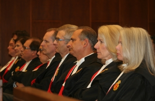Members of the Ontario judiciary