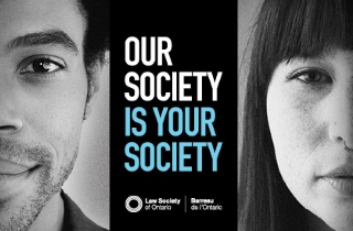 Law Society of Ontario public campaign sm