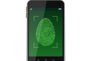 Fingerprint cellphone