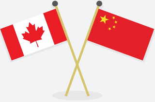 CanadianChineseflags
