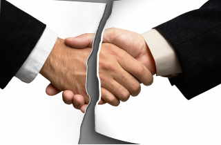 Fractured Handshake