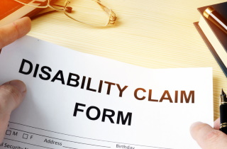 Disability claim form