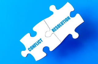Conflict resolution puzzle