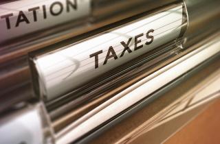 Tax file tab