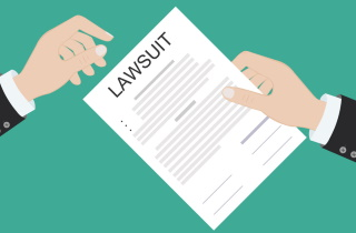 Lawsuit paper