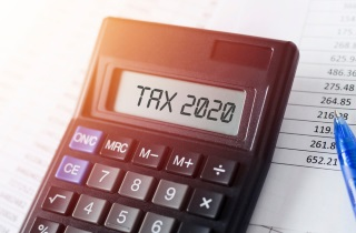 Tax 2020 on calculator