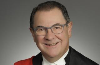 Chief Justice Geoffrey Morawetz sm