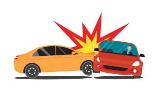 Two-car crash