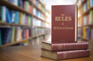 Three books on rules and regulations