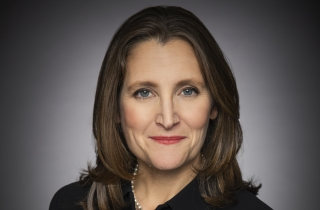 Deputy Prime Minister and Finance Minister Chrystia Freeland