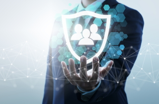 Hand protecting consumer data