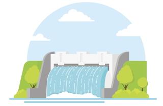 Hydroelectric damn