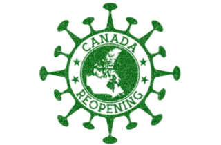 Canada opens stamped on a COVID virus
