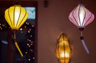 Lantern-style lights