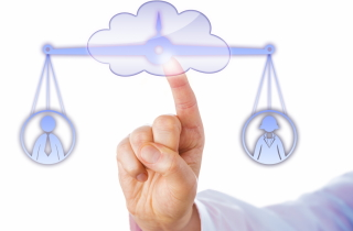 Scales of justice in the cloud