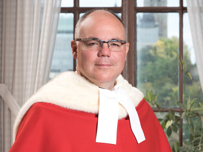 Supreme Court of Canada Justice Russell Brown