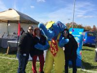 Levittown- Bubbles and Satff at Fall Festival
