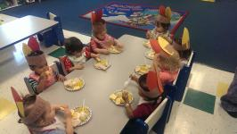 Nazareth Toddler B Thanksgiving Feast