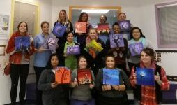 Princeton- Staff Paint Party