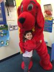 Waldwick- Clifford visit during book fair