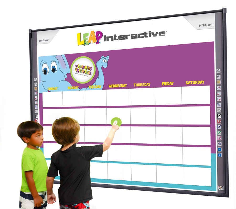L.E.A.P. Interactive smartboard