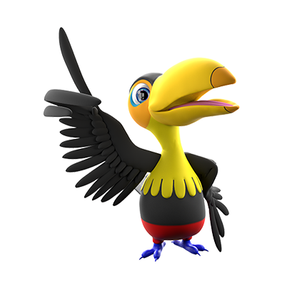 Our Character Page Toucan