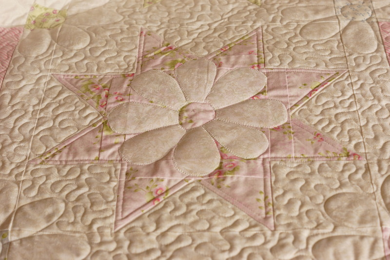 Summer quilting stitch by stitch custom quilting