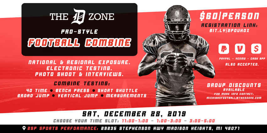 The D Zone Combine Dec 2019