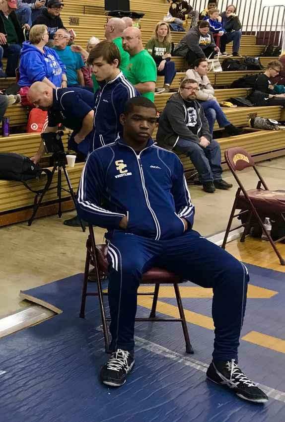 Austin E Jordan 215lb Varsity Wrestler