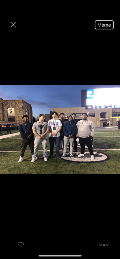 Toledo visit and spring game