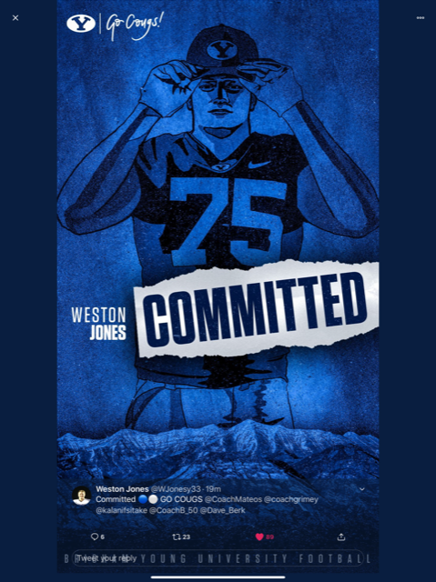 Byu committed