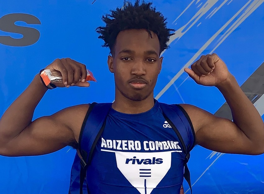 Tj at rivals adizero combine 4 27 19