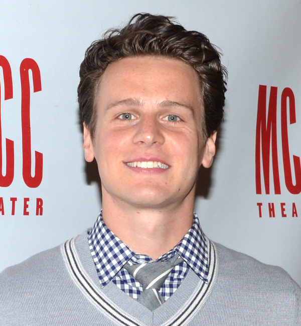 Jonathan Groff will take over for Brian d'Arcy James in the role of King George in Hamilton.