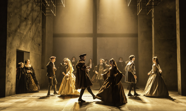 The company of the Royal Shakespeare Company's Wolf Hall: Parts 1 & 2.