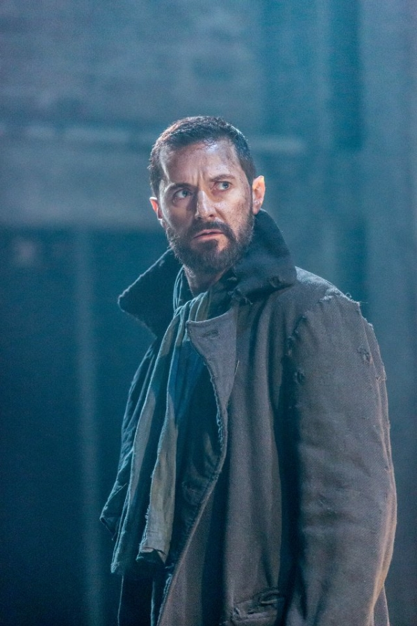 Richard Armitage as John Proctor in Yaël Farber's production of Arthur Miller's The Crucible at the Old Vic Theatre in London.